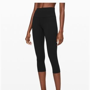 Lululemon Wunder Train HR Crop 21""
